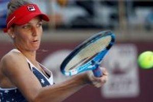 Pliskova giành vé dự WTA Finals dù thua trận ở Moscow