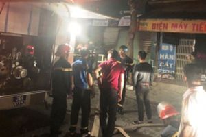 Dập tắt đám cháy cửa hàng điện thoại ở TP Thanh Hóa