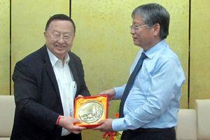 Lãnh đạo TP Đà Nẵng tiếp Chủ tịch Tập đoàn công nghiệp dầu khí Thái Lan
