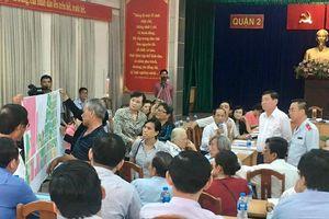 'Chính quyền TPHCM sẵn sàng lắng nghe để tìm sự đồng thuận với người dân Thủ Thiêm'