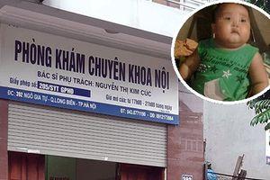 Thông tin bất ngờ vụ bé 2 tuổi tử vong khi truyền dịch