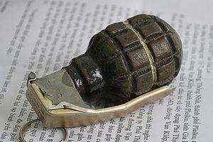 Mang lựu đạn đe dọa công an khi bị bắt giữ