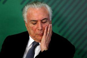 Brazil: Tổng thống bị cáo buộc tham nhũng, rửa tiền