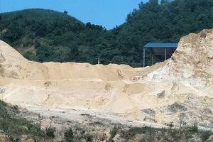 Cận cảnh khu mỏ khai thác quặng của Công ty Sơn Lâm CĐP bị 'tố' gây ô nhiễm tại Tuyên Quang