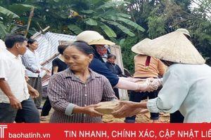 Lộc Hà khởi công xây dựng nhà thờ cho gia đình liệt sĩ Nguyễn Minh Thanh