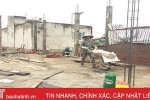 TP Hà Tĩnh thu hơn 3 tỷ đồng thuế xây dựng nhà ở tư nhân