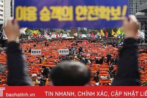Hàng chục nghìn tài xế taxi Hàn Quốc đình công phản đối dịch vụ chia sẻ xe