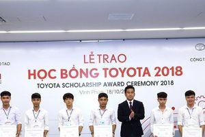 Điều ít biết về học bổng Toyota cho sinh viên Việt Nam