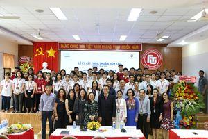 Cơ sở II Trường ĐH Ngoại Thương ký kết thỏa thuận hợp tác cùng công ty TNHH nước giải khát Suntory Pepsico Việt Nam