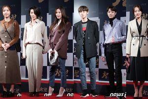 Seohyun tỏa sáng bên Hwang Minhyun và Lai Guanlin (Wanna One) tại buổi công chiếu phim 'Rampant'