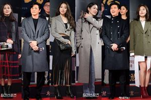 Công chiếu phim 'Rampant': Vợ Jang Dong Gun đọ sắc cùng 'hội bạn gái' của Hyun Bin - Son Ye Jin, Ha Ji Won và Park Shin Hye