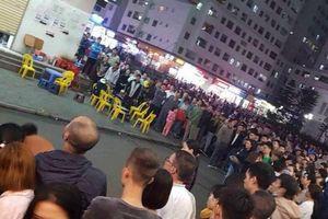 Hà Nội: Bé sơ sinh tử vong vì bị rơi từ nhà cao tầng xuống sân chung cư Linh Đàm