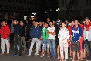 Hiện trường vụ trẻ sơ sinh bị rơi từ tòa nhà hơn 40 tầng ở Linh Đàm