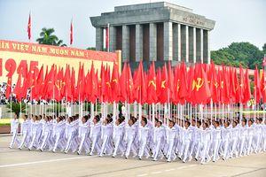 Vì nền độc lập dân tộc vô giá, vì chủ nghĩa xã hội và sự toàn vẹn lãnh thổ Tổ quốc thiêng liêng, Đảng Cộng sản Việt Nam cùng dân tộc Việt Nam hội nhập quốc tế, phát triển mạnh mẽ và bền vững
