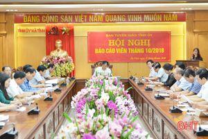 Hà Tĩnh: tích cực tuyên truyền kết quả Hội nghị Trung ương 8 khóa XII