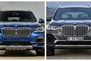 So găng BMW X7 và BMW X5, liệu có quá nhiều sự khác biệt?