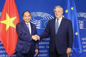 Tín hiệu tích cực về EVFTA từ chuyến thăm EU của Thủ tướng