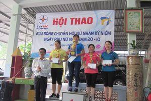 Công ty Điện lực Bến Tre: Tổ chức giao lưu bóng chuyền nữ