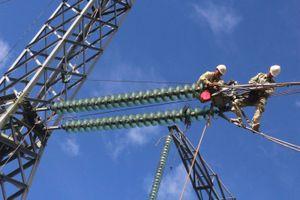 Công ty Truyền tải điện 2: Động viện công nhân trực tiếp thi công trên công trường