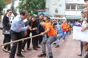 Báo Tuổi trẻ Thủ đô lần thứ 2 đạt huy chương Đồng môn Kéo co