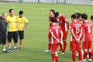 Người hâm mộ sẽ không được theo dõi các trận giao hữu của đội tuyển Việt Nam