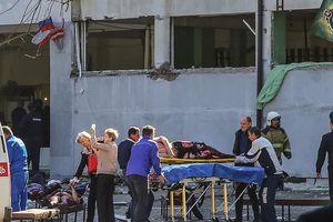 Hiện trường vụ đánh bom và xả súng kinh hoàng tại Crimea