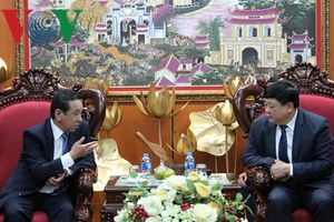 Đại sứ Mông Cổ đề nghị VOV hợp tác tuyên truyền 65 năm quan hệ 2 nước