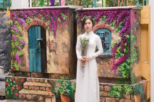 Cận cảnh những bức tường cũ kỹ trên phố Phan Đình Phùng khoác áo mới