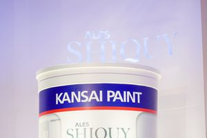 Kansai Paint ra mắt sản phẩm sơn Ales Shiquy