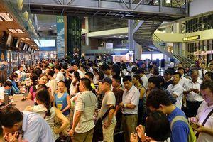 Máy phát hỏng, sân bay Tân Sơn Nhất mất điện 3 phút