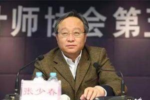Trung Quốc bắt cựu Thứ trưởng Tài chính Trương Thiếu Xuân