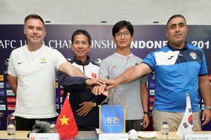 HLV Hoàng Anh Tuấn: 'Tôi muốn tái lập kỳ tích giành vé dự U20 World Cup'