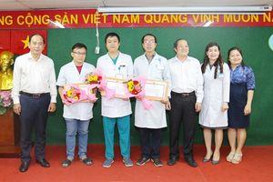 Sở Y tế TP.HCM đã khen thưởng đột xuất cho BV tuyến huyện