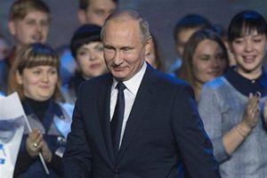 Tổng thống Putin: 'Tôi không ngại gánh tránh nhiệm toàn cầu'
