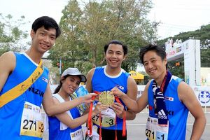 Trên 1.600 vận động viên tham gia giải chạy 'Vì an toàn giao thông'