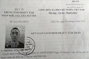 Vụ 2 lần giết người, thoát tội nhờ bệnh án tâm thần: Giết người ở Đắk Nông nhưng không bị điều tra?