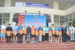LĐLĐ tỉnh Lâm Đồng tổ chức Hội thao cụm thi đua LĐLĐ các tỉnh Nam Trung bộ và Tây nguyên