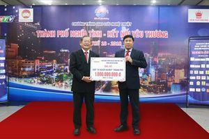 HDBank tặng 1 tỉ đồng cho Quỹ Vì người nghèo TPHCM