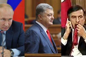 Tổng thống Nga nhắn gửi: Ông Poroshenko hãy xem gương Mikhail Saakashvili
