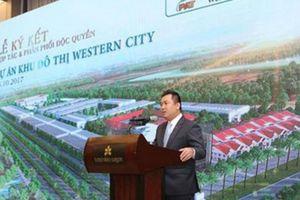 Thi công 'chui', đến lượt chủ đầu tư dự án Western City bị xử phạt