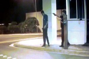 Brazil: Nhân viên an ninh gí súng bắn chết người rồi thản nhiên bỏ đi