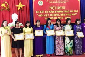 Tôn vinh 29 cá nhân, tập thể 'giỏi việc trường, đảm việc nhà'