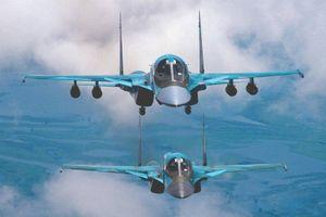 Nga trang bị thêm 2 máy bay ném bom Su-34 mới vào hoạt động