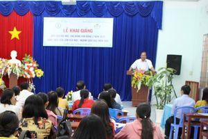 Cà Mau: Khai giảng lớp đào tạo GV dôi dư có nguyện vọng dạy mầm non