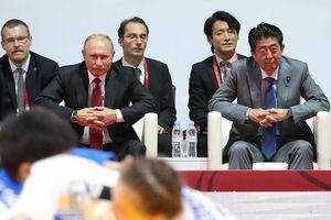 Tổng thống Putin nói thủ tướng Nhật bác đề xuất về hiệp ước hòa bình