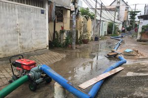TP.HCM: Nhà máy nước Tân Hiệp gặp sự cố, nhiều quận huyện bị cúp nước