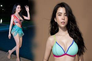 Huỳnh Vy nhận giải 'Hoa hậu có hình thể đẹp nhất' tại Miss Tourrism