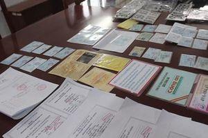 Triệt phá đường dây làm giả giấy tờ chiếm đoạt tài sản