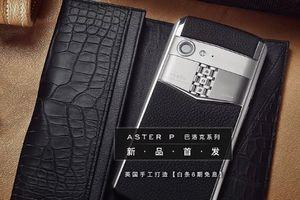 Vertu vực dậy sau đống tro tàn với chiếc điện thoại Aster P