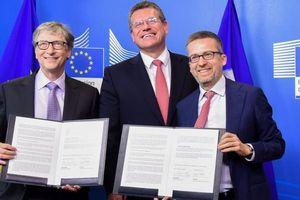 EU và Bill Gates thành lập quỹ đầu tư năng lượng sạch